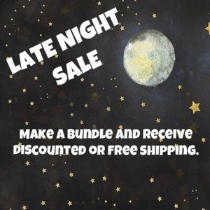 ⭐️ LATE NIGHT SALE ⭐️